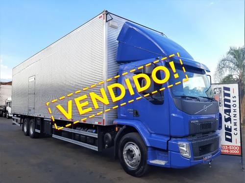 Volvo Vm 270 6x2 Ano 2020/21 Carroceria Baú 11,50 Mts