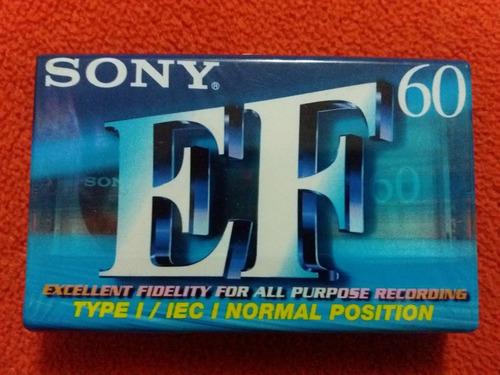 Cassette Sony Efb 60 - 60 Minutos Nuevo Sellado - 20 Soles