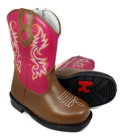 Bota Country Infantil Texana Feminina Menina Rodeio 8175