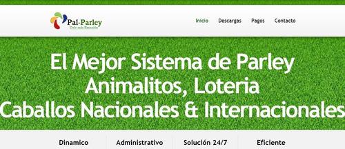 Ventas X Sistemas X Programas De Animalitos Web Parley