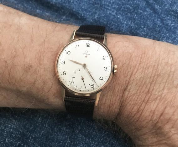 Relógio Omega Ouro 18k Maciço Até Pulseira E Fecho Original