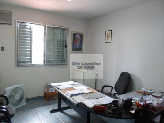 91517 * Sobrado Comercial Com 130m² E Excelente Localização No Campo Belo - So0032
