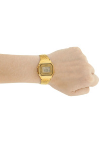 Relógio Casio Original La680wga-9df Dourado