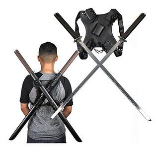 Ace Artes Marciales Suministro De Dos Espadas Ninjas Con Vai