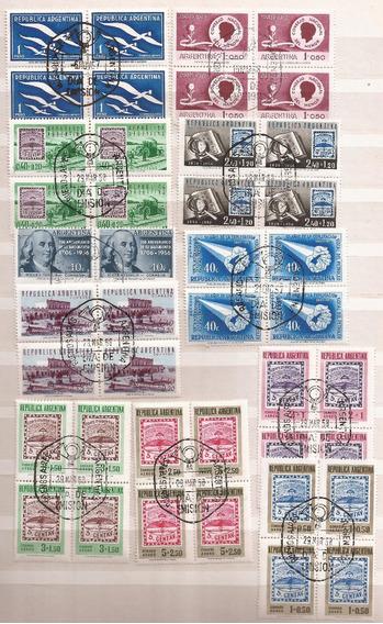 Argentina 1958 - 19 Cuadros Primer Día - 192