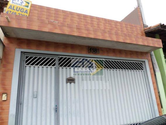 Sobrado Com 2 Dormitórios Para Alugar, 120 M² Por R$ 1.200/mês - Cidade Edson - Suzano/sp - So0104