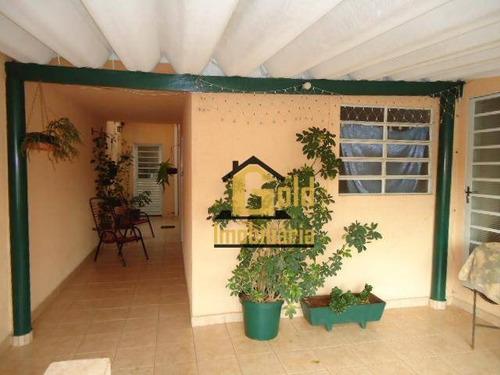 Casa Com 4 Dormitórios À Venda, 81 M² Por R$ 300.000 - Iguatemi - Ribeirão Preto/sp - Ca0689