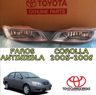 Faro Antiniebla Corolla 2005 2006 2007 2008 C/bombillo