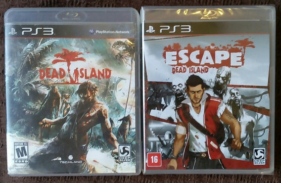 Jogos Dead Island + Escape Dead Island Para Playstation 3