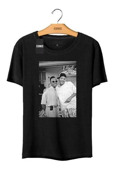 Camiseta Unissex Will Smith Um Maluco No Pedaço Codle3077