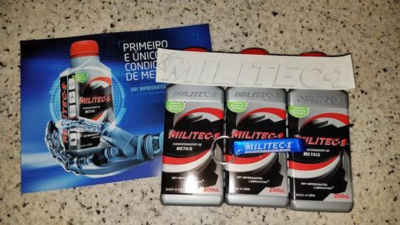Militec-1 3 Unid Frete Grátis + Chaveiro + Adesivo Original