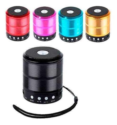 Mini Caixa Som Portátil Bluetooth Wireless Mp3 P2 Usb Fm Sd