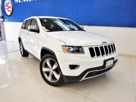 Jeep Grand Cherokee Limited Piel Gps 2016