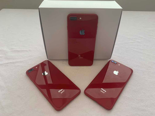 Apple iPhone 8 Plus 64gb Product Red Rojo Usados Importados