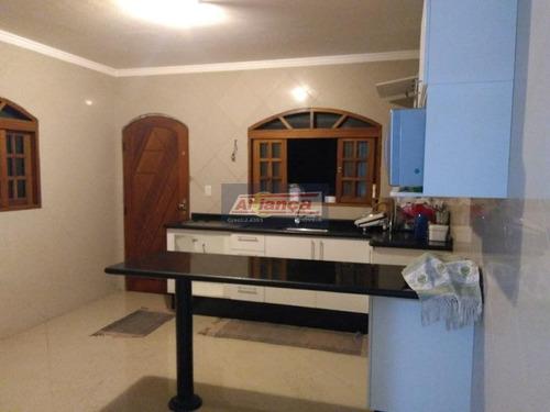 Sobrado Com 3 Dormitórios À Venda, 100 M² Por R$ 450.000 - Parque Flamengo - Guarulhos/sp - Ai10237