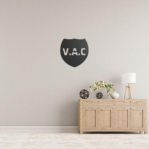 Quadro Decorativo Parede Jogos Vac Logo Cs:go 90cm