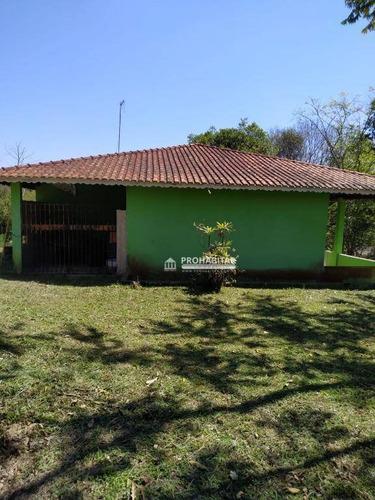 Chácara Com 3 Dormitórios, 5600 M² - Venda Por R$ 400.000,00 Ou Aluguel Por R$ 3.500,00/mês - Jardim Santa Tereza - São Paulo/sp - Ch0180