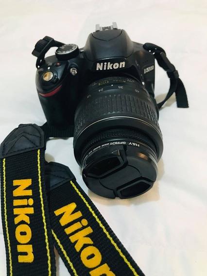 Camara Nikon Digital D3200 18-55mm