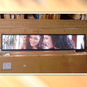 Painel De Led P5 De 167 X 40cm Full Color Suporta Vídeos Rgb
