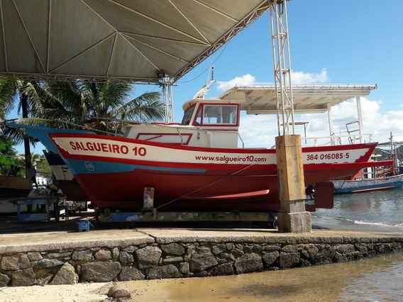 Barco Traineira Passeio, Pesca, Carga E Mergulho