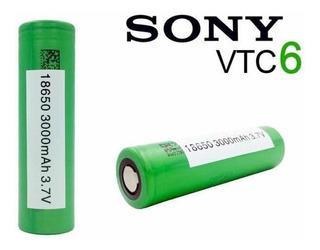 Pilas Sony 18650 Vtc6 Cigarrillo Electrónico Vaper 3000mah
