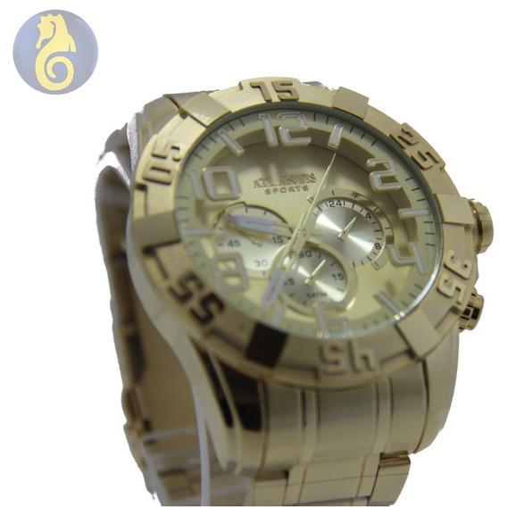 Relógio Masculino Quartz Atlantis Original Social Sport Dour