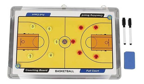 Pizarra De Basketball 30x45 Cm Magnética Baloncesto