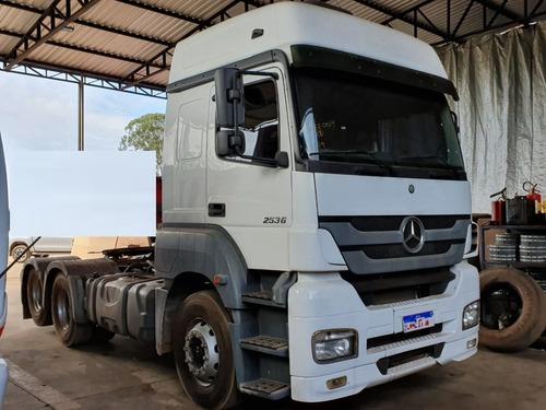 Mercedes-benz Axor 2536 6x2 Ano 2016 Trucado