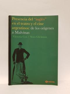 Presencia Del Ingles En El Teatro Y Cine Argentinos - Cox