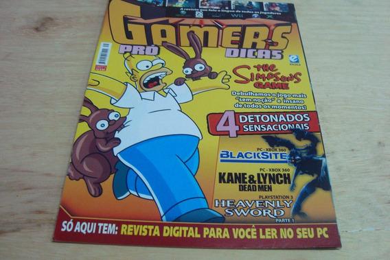 Revista Escala / Gamers Pro Dicas 71 / Detonados Simpsons