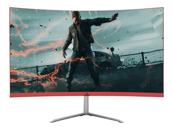 Monitor Gamer Curvo Led 23.8 Concordia Full Hd