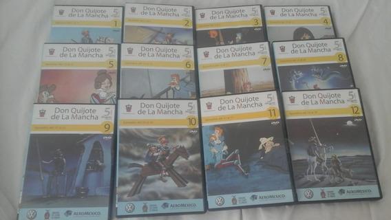Dvd Coleccion De 12 Don Quijote De La Mancha