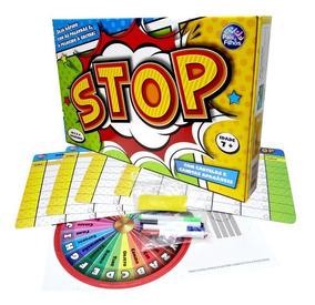 Jogo Stop Seja Rápido C/ Canetas Apagáveis - 134292
