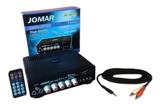 Amplificador Equipo, Radio, Bluetooth,microfono,usb, Chico