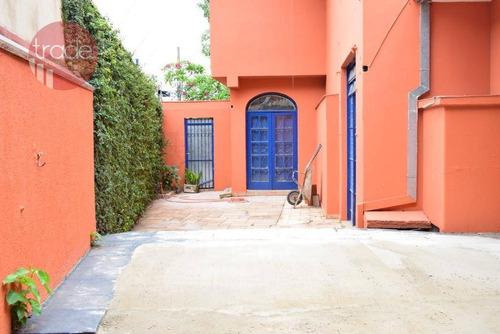 Casa Para Alugar, 281 M² Por R$ 4.000,00/mês - Jardim Sumaré - Ribeirão Preto/sp - Ca3866