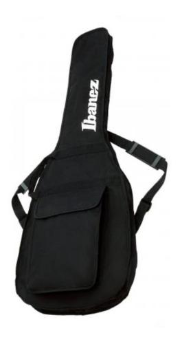 Bag Ibanez Para Guitarra Preto Igb101 Black + Nf
