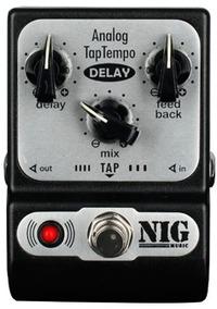 Pedal Nig Pocket Padt Analog Tap Tempo