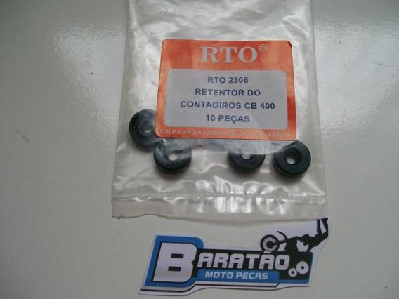 Retentor Rto Eixo Contagiro Cb 400 450