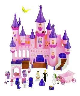 Castillo Princesas Con Luces Sonidos Y Accesorios