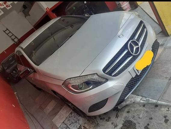 Mercedes A200 Turbo Motor 1.6 2014/2015 Prata Portas