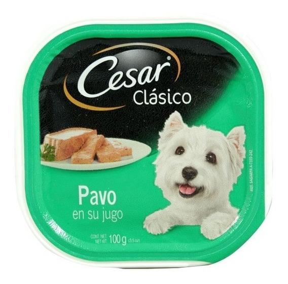 Alimento Para Perro Cesar Pavo En Su Jugo 100 Gr