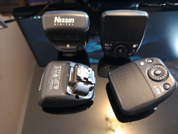 Nissin Air 1 Commander Para Cameras Sony Com Multi-interface
