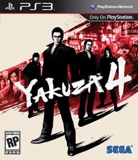 Juegos,yakuza 4 - Playstation 3