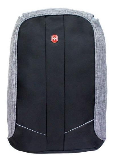 Swissland Mochila Anti Furto Notebook Laptop Usb Ys28057