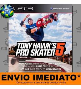 Jogo Ps3 Tony Hawks Pro Skater 5 Psn Play 3 Mídia Digital