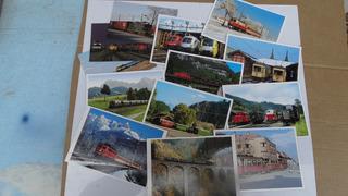 Cartão Postal De Trem - 36 Diversos Estrangeiros Excelentes