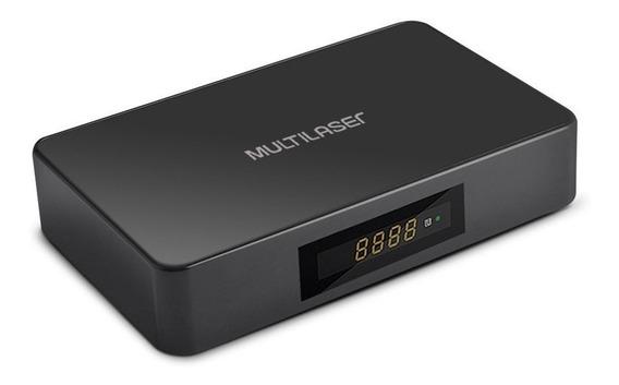 Smart Tv Multilaser Box Hibrido+conversor 8gb Preto Pc001
