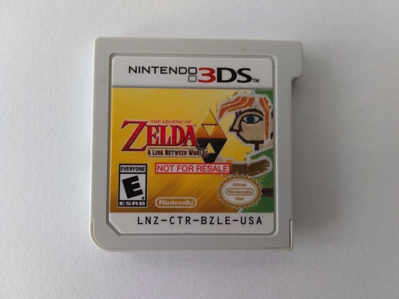 N3ds Zelda A Link Between Worlds Nfr Usa Lnz-crt-bzle-usa