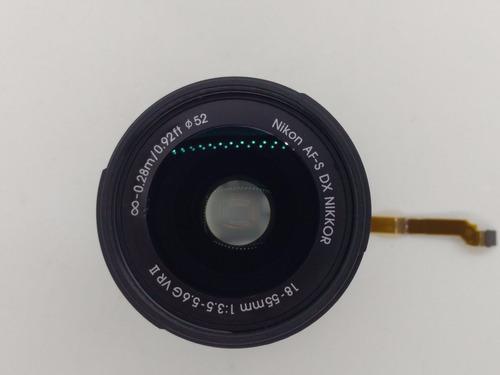 Lente Nikon 18-55 Vr Ii Conjunto Do Foco