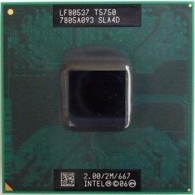 Processador Intel Core 2 Duo T5750 2.0 2m 667 Sla4d Usado